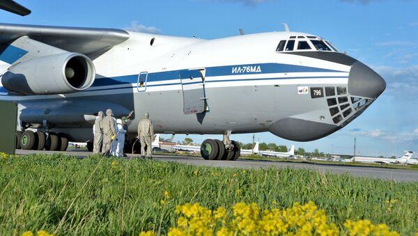 L'ultimo Il-76 partito dall'Italia per la Russia - Sputnik Italia