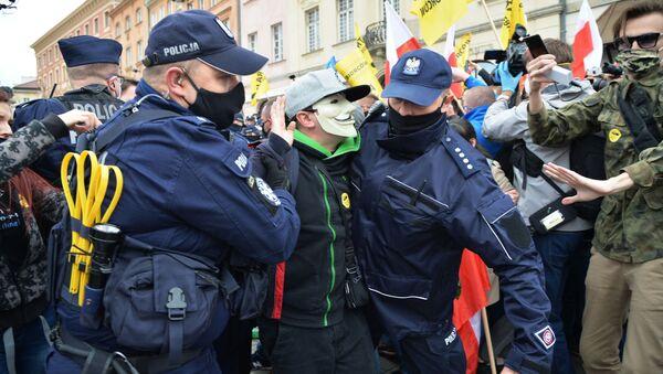 Una manifestazione di imprenditori a Varsavia - Sputnik Italia