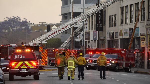 Pompieri di Los Angeles - Sputnik Italia