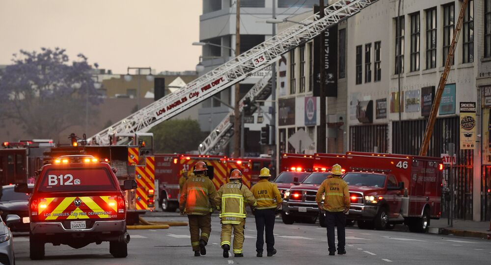 Pompieri di Los Angeles