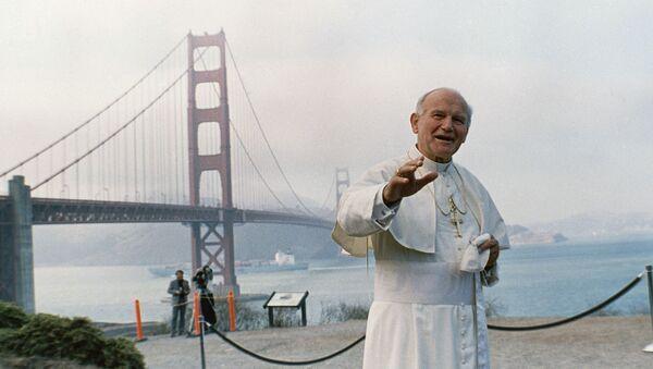 Papa Giovanni Paolo II a San Francisco, nel nord della California, USA - Sputnik Italia