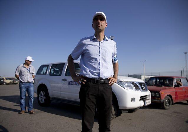 Paul Picard, capo missione OSCE al confine tra Russia e Ucraina