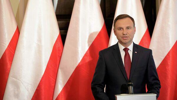 Presidente polacco Andrzej Duda - Sputnik Italia