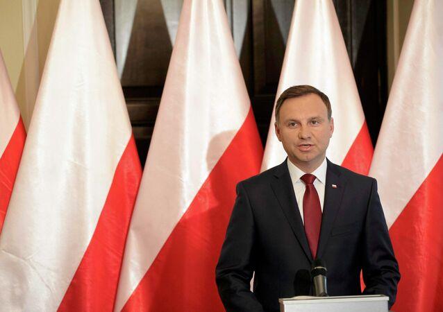 Presidente polacco Andrzej Duda