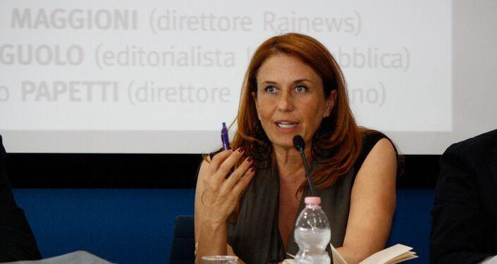 Monica Maggioni, presidente attuale della Rai
