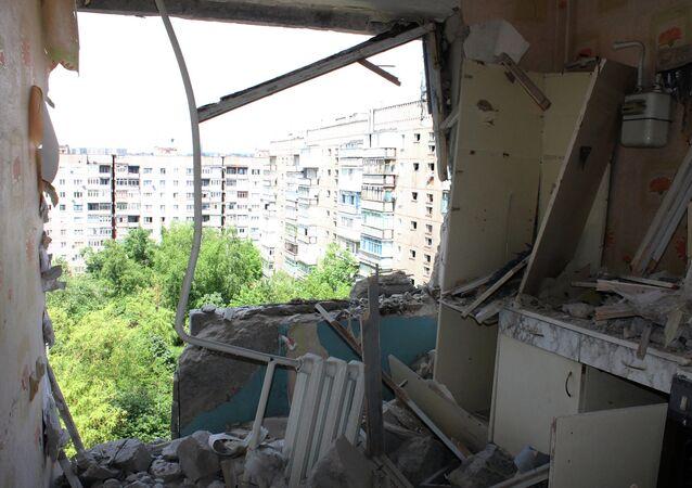 Bombardamenti a Gorlovka