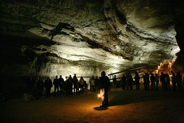 Parco nazionale di Mammoth Cave, USA - Sputnik Italia
