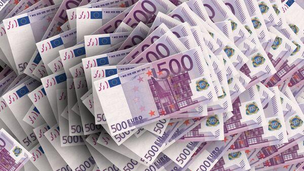 Banconotte di 500 euro - Sputnik Italia