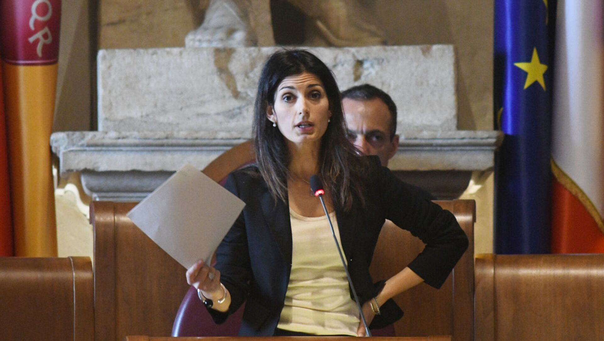 Virginia Raggi, sindaco di Roma Capitale - Sputnik Italia, 1920, 17.02.2021