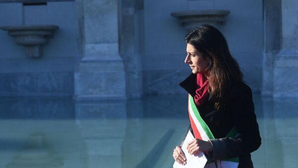 Virginia Raggi, sindaco di Roma Capitale - Sputnik Italia