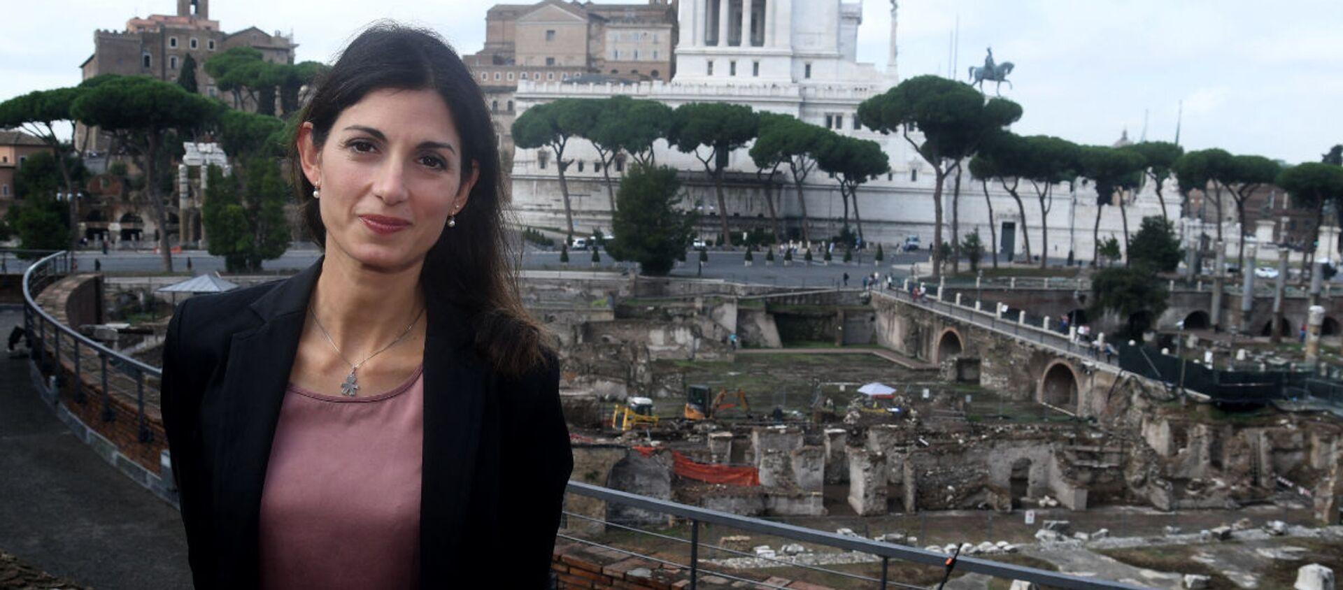 Virginia Raggi, sindaco di Roma Capitale - Sputnik Italia, 1920, 09.05.2021