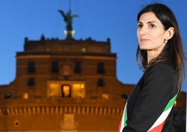 Virginia Raggi, sindaco di Roma Capitale