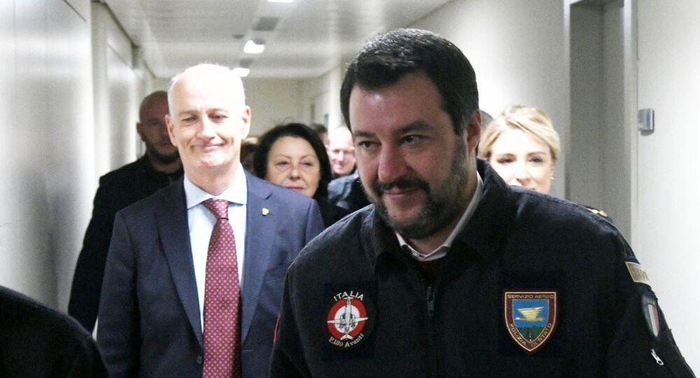 Migranti, Faraone denuncia Musumeci e Salvini per procurato allarme