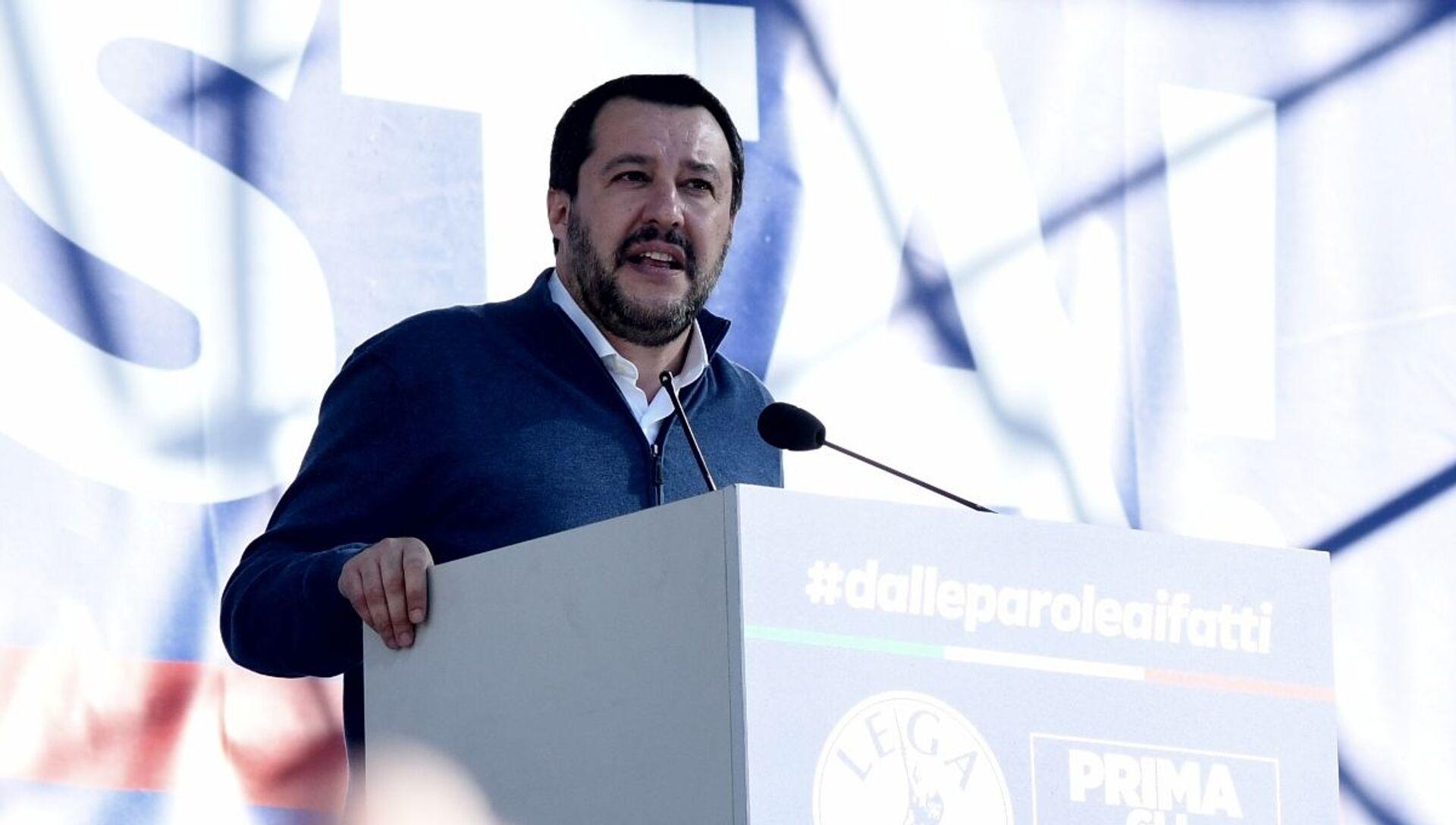 Matteo Salvini  - Sputnik Italia, 1920, 20.02.2021