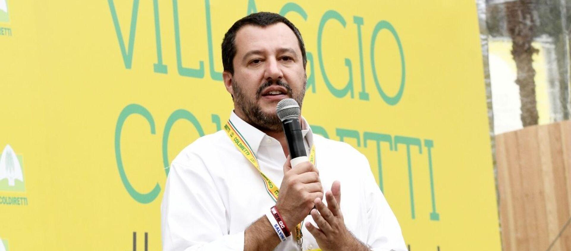 Matteo Salvini  - Sputnik Italia, 1920, 03.10.2020