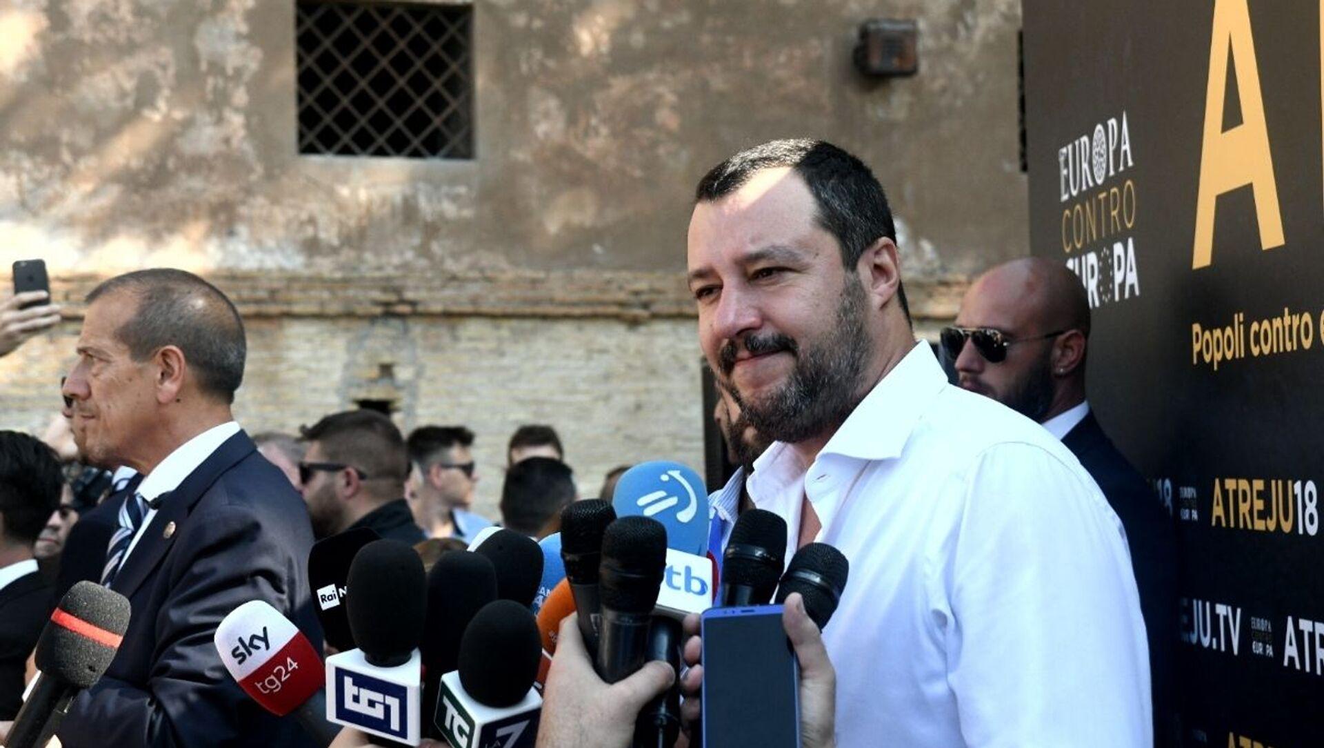 Matteo Salvini  - Sputnik Italia, 1920, 22.08.2020