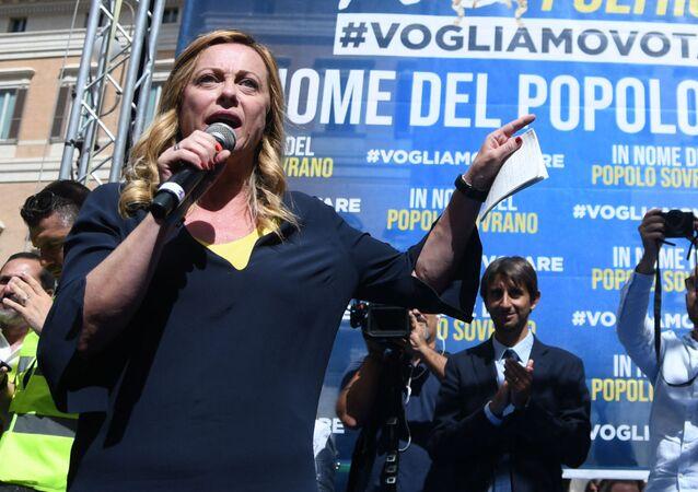 Giorgia Meloni (foto d'archivio)