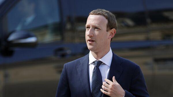 CEO di Facebook Mark Zuckerberg - Sputnik Italia