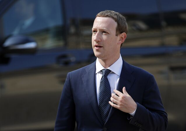 CEO di Facebook Mark Zuckerberg