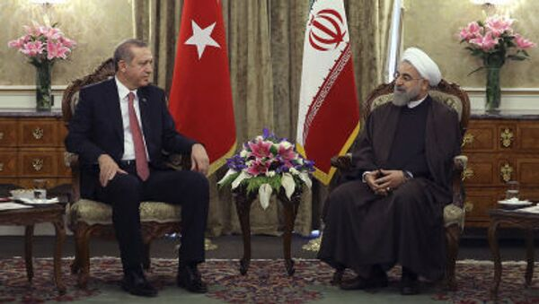 Erdogan e Rouhani - Sputnik Italia