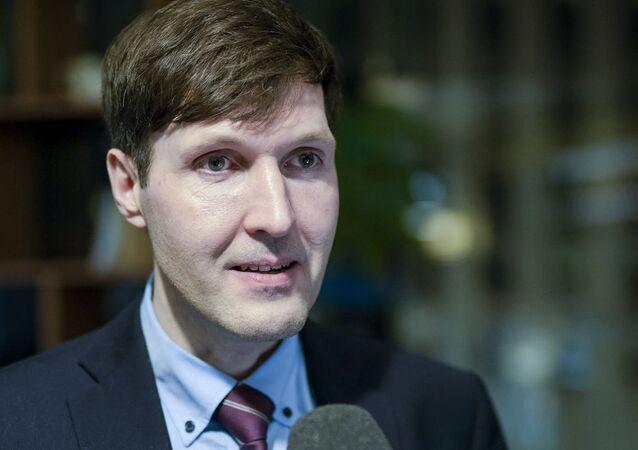 Martin Helme, ministro delle Finanze dell'Estonia