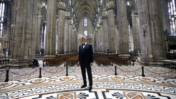 Andrea Bocelli - Sputnik Italia