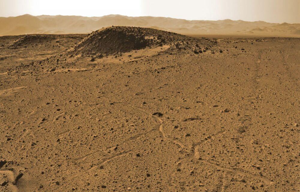 Rocce marziane scattate da Rover, il 3 aprile 2014