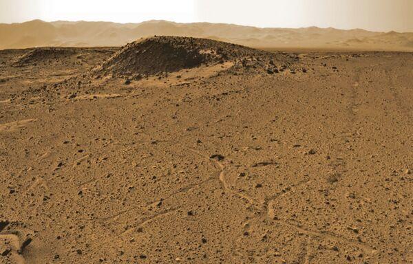 Rocce marziane scattate da Rover, il 3 aprile 2014 - Sputnik Italia