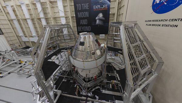 Terzo Modulo di Servizio Europeo per la missione che farà atterrare gli astronauti sulla luna - Sputnik Italia