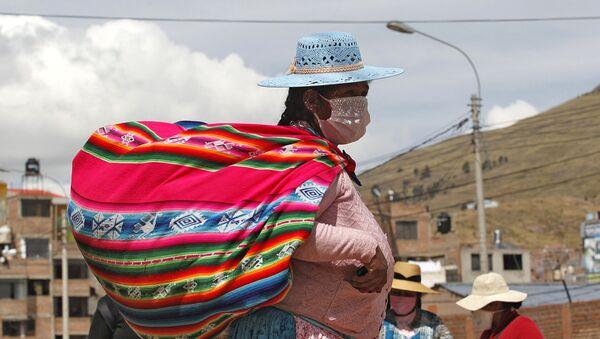 Una donna indigena in Perù - Sputnik Italia