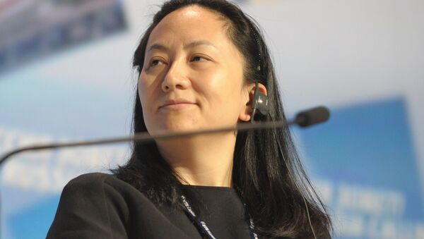 Meng Wanzhou, Chief Executive Officer, Huawei Technologies, attending the 6th Annual VTB Capital Investment Forum Russia Calling at the World Trade Center, October 2, 2014 - Sputnik Italia