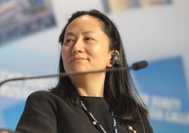 Meng Wanzhou (foto d'archivio)