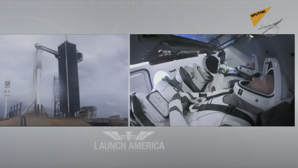 SpaceX di ElonMusk: per la prima volta due astronauti a bordo - Sputnik Italia
