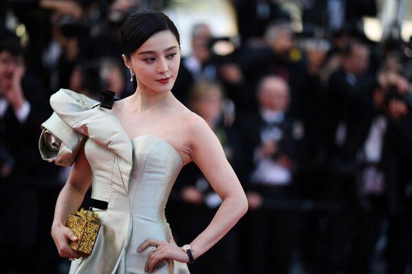 L'attrice cinese Fan Bingbing alla 71a edizione del Festival di Cannes, Francia - Sputnik Italia
