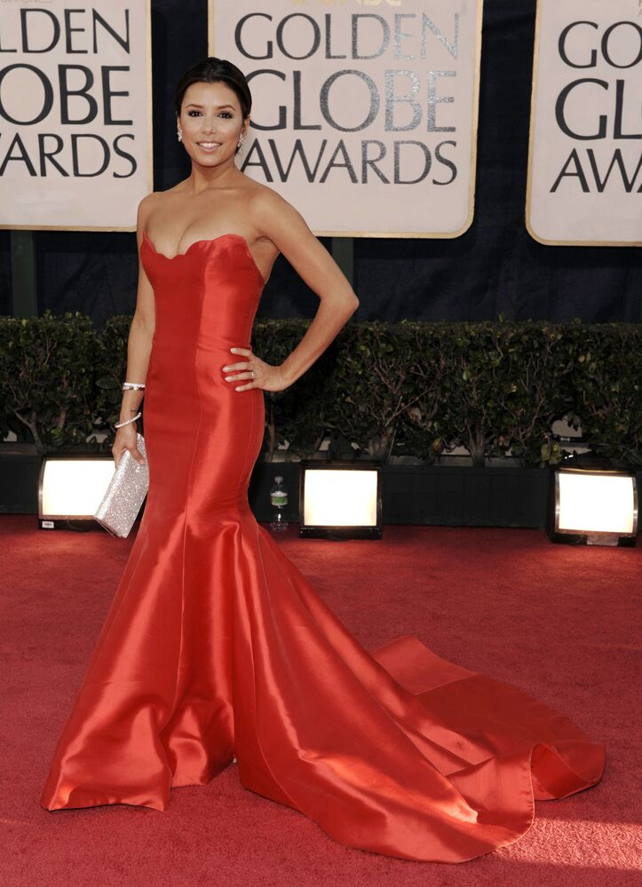 L'attrice Eva Longoria arriva al 66° Annual Golden Globe Awards, domenica 11 gennaio 2009, a Beverly Hills, in California, USA