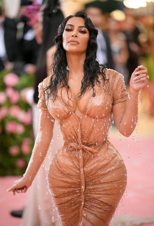 La star televisiva americana Kim Kardashian - Sputnik Italia