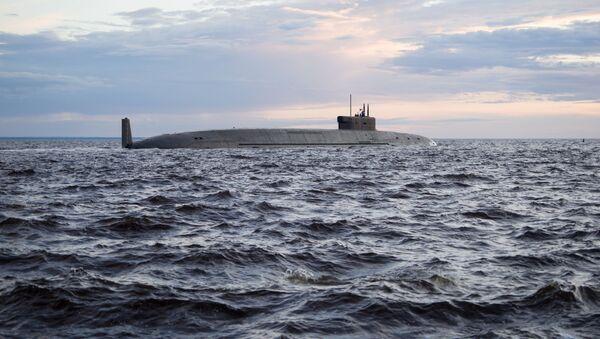 Атомный подводный ракетный крейсер стратегического назначения Князь Владимир в акватории Северодвинска - Sputnik Italia