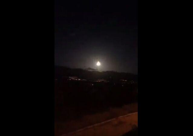 Is meteorite fall in Turkey ?