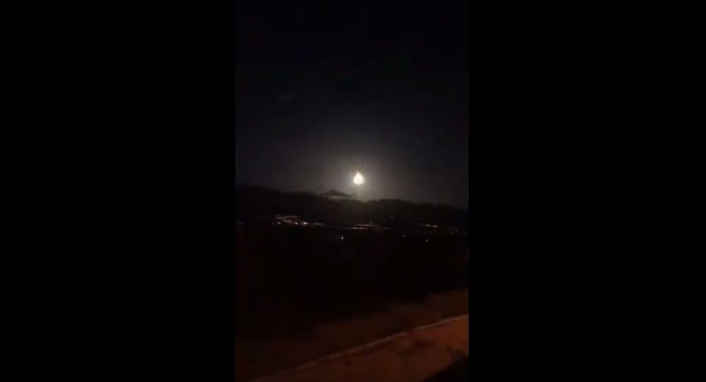 Is meteorite fall in Turkey ?