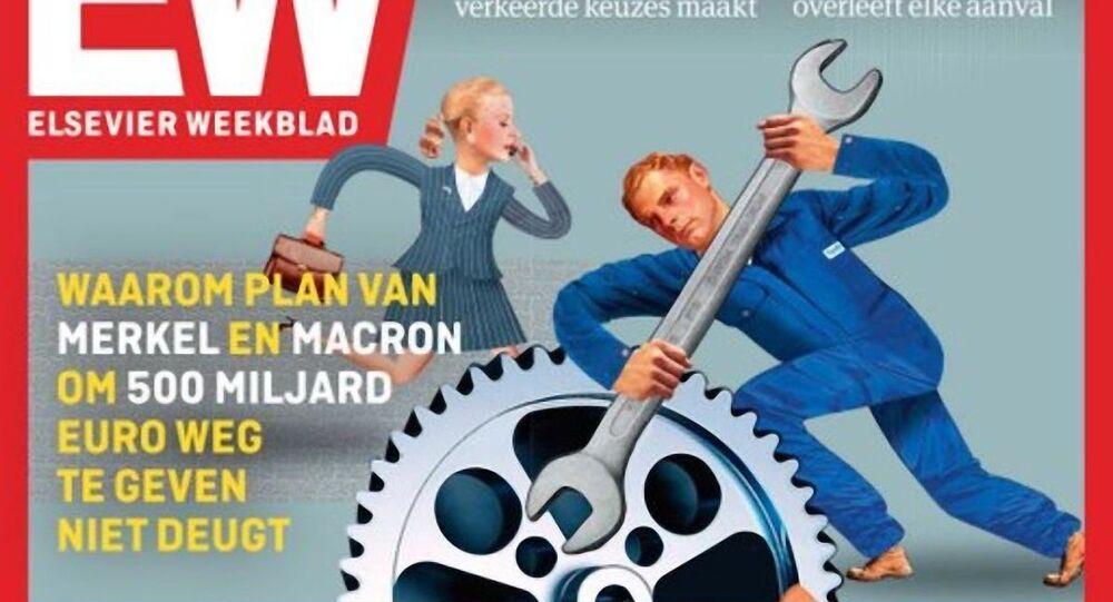 La copertina della rivista olandese Elsevier Weekblad (30.05.2020)