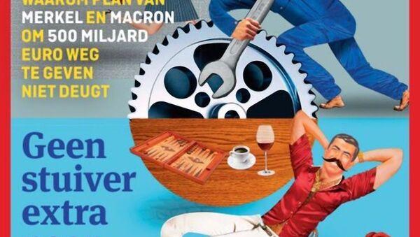 La copertina della rivista olandese Elsevier Weekblad (30.05.2020) - Sputnik Italia