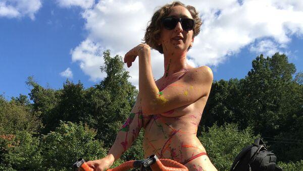 Philly Naked Bike Ride  - Sputnik Italia