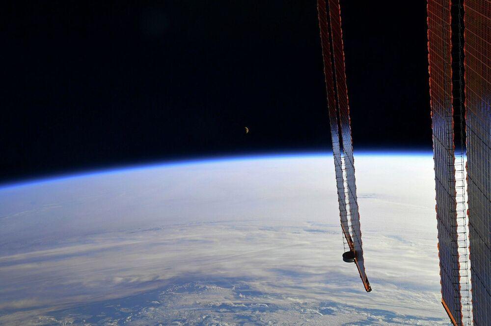 La Terra vista dalla Stazione Spaziale Internazionale.