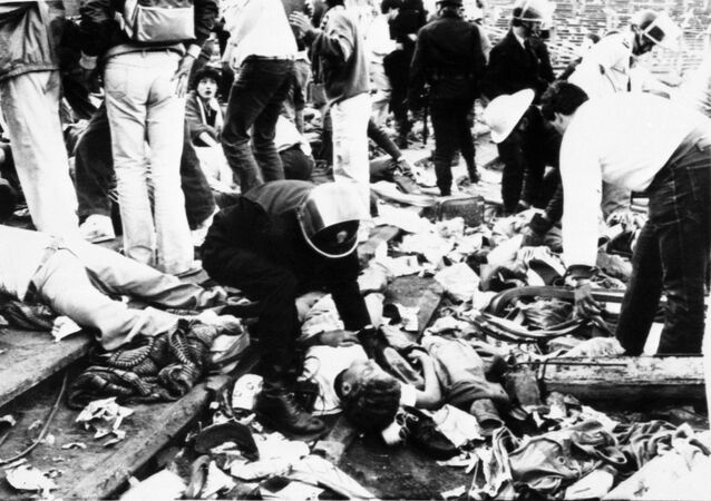 La strage dell'Heysel, tragedia avvenuta il 29 maggio 1985 allo stadio Heysel di Bruxelles