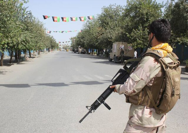 Forze di sicurezza in Afghanistan