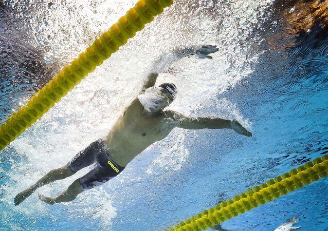 Una gara di nuoto