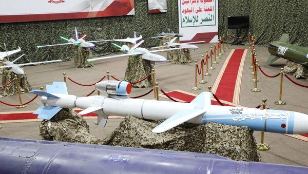 Missili e droni degli Houthi - Sputnik Italia