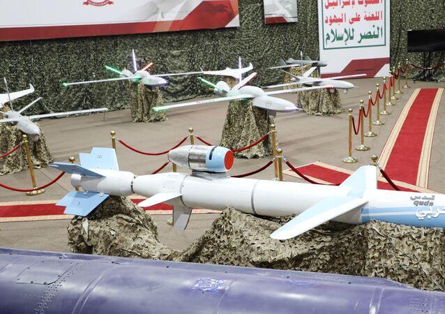 Missili e droni degli Houthi