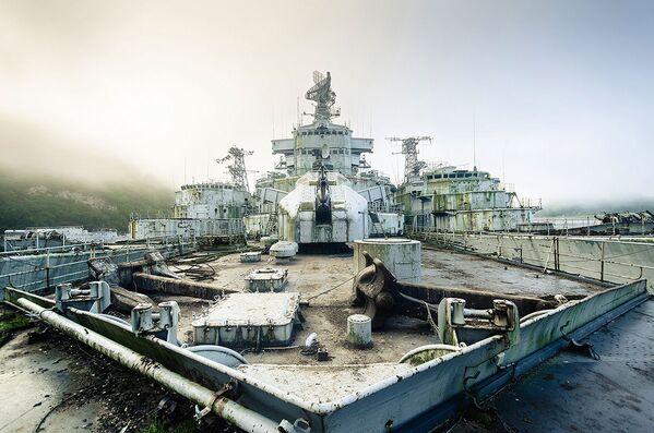 Durante uno dei viaggi Thissen ha trovato un intero cimitero delle navi da guerra in Francia. Non ha rivelato però dove si trova. - Sputnik Italia