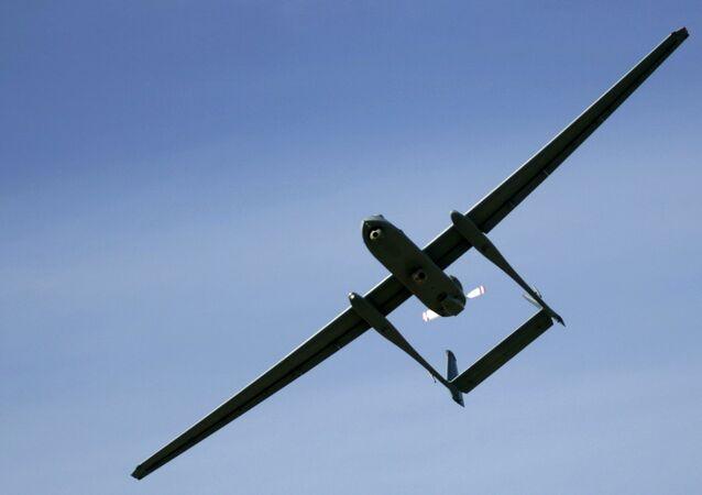 Un drone israeliano (foto d'archivio)